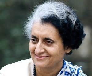 Indira Priyadarshini Gandhi (November 19, 1917–October 31, 1984) was the third (1966–77) and sixth (1980–84) Prime Minister of India and the first woman to hold that office.