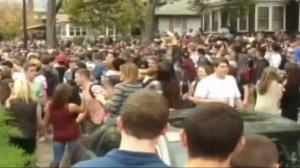 Pumpkin Festival Clash With Police