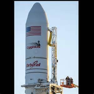 An unmanned Antares rocket exploded seconds after liftoff from a commercial launch pad in Virginia on Tuesday.