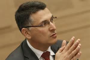 Israeli Interior Minister Gidon Sa'ar