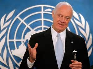 Staffan de Mistura, the new United Nations special envoy for Syria