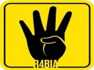 'Rabaa' sign