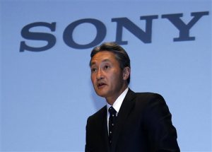 Japanese electronics giants surge as yen hits 7-year low