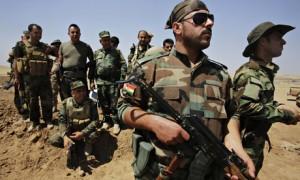 Last Peshmerga forces leave Kobani