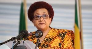 Executive Secretary of SADC, Dr. Stergomena Lawrence tax