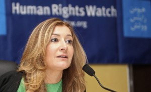 head of 'Human Rights Watch's Mideast and North Africa division