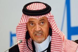 Prince Saud Al Faisal.