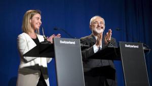 EU hopes for 'major but positive' Iranian role