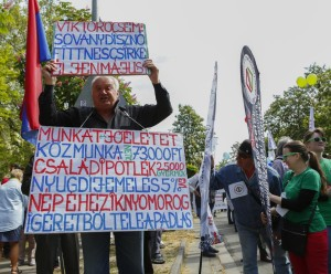 May Day Events And Protests In Budapest