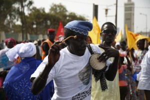 May Day celebrations in Senegal