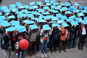 May Day celebrations in Brussels