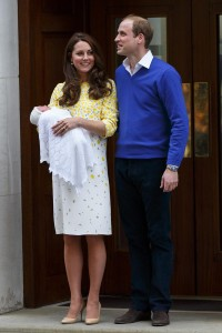The Duke And Duchess Of Cambridge Depart The Lindo Wing With Their Second Child