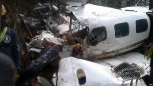 Search and rescue aircraft found the wreck of the plane. The cause of the crash is unclear