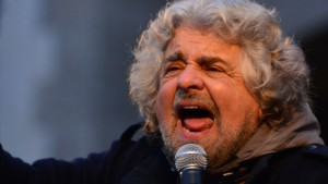 Beppe Grillo, the leader of Italy's second largest political party