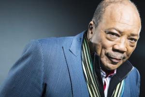 Legendary music producer Quincy Jones