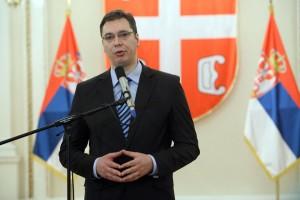 Aleksandar Vucic Serbian leader