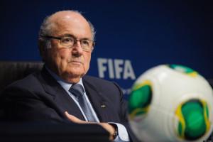 Suspended Fifa president Sepp Blatter.