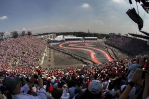 General view during the race.