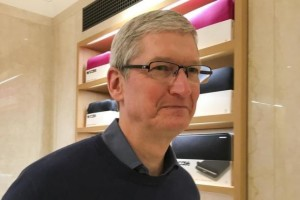 Apple Chief Executive Officer Tim Cook.