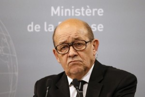 French Defence Minister Jean-Yves Le Drian .