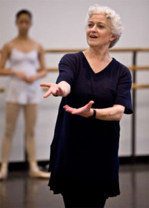 Verdy, here teaching at the School of American Ballet in October 2008.