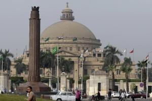 Cairo University in Cairo, Egypt.