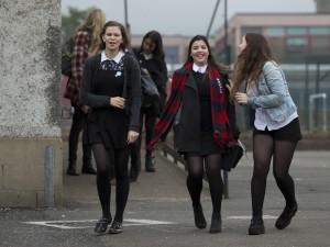 Scottish teenage girls