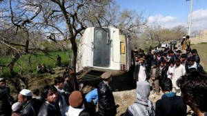 Bombing of Afghan Education Ministry Bus