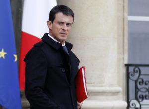 Prime Minister Manuel Valls.