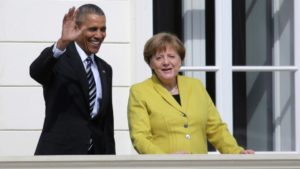 US President Barack Obama in Germany
