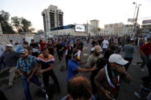 Four killed, 90 injured in Baghdad Green Zone riots: hospitals
