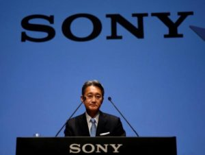 Sony Corp's President and Chief Executive Officer Kazuo Hirai attends its corporate strategy meeting at the company's headquarters in Tokyo, Japan June 29, 2016.