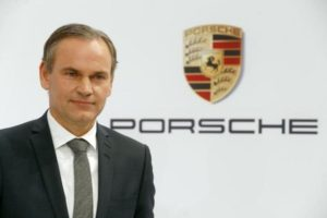 CEO of German carmaker Porsche, Oliver Blume.