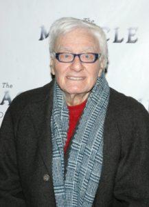 Peter Shaffer, award-winning British playwright.