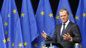 EU offers 'fairness' to Britain in Brexit talks