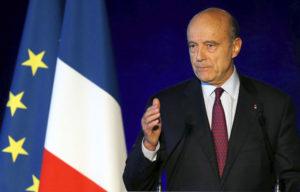 French presidential hopeful Alain Juppe.