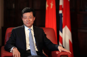 Chinese ambassador warns relations with UK at crossroads