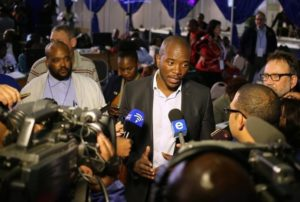 South Africa's Maimane sees 'non-racial' era after vote wins