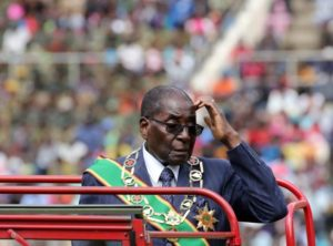 Zimbabwe's Mugabe seeks to retain defense forces' support after pay delays