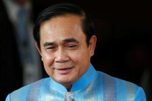 Thai junta chief Prayuth reiterates election in 2017