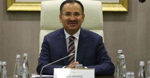 Turkish Justice Minister Bekir Bozdag.