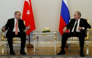 Turkey's Erdogan says new chapter emerging in relations with Russia