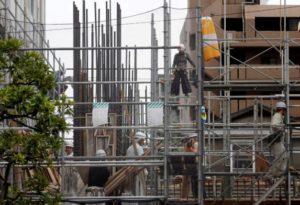 Cranes deliver Japan's real estate revival to BOJ's doorstep