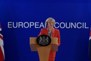 May rejects talk of 'hard Brexit', says UK's options not binary