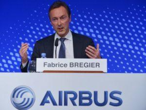 Airbus chief executive Fabrice Bregier.