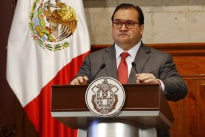 Javier Duarte, Governor of the state of Veracruz.