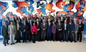 More than 60 mayors from five continents gathered for the inaugural Global Parliament of Mayors.