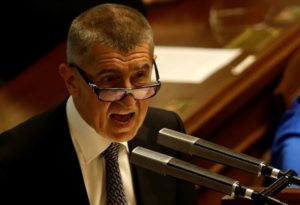 Czech Finance Minister Babis says proposes Pilny as his replacement