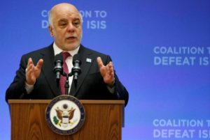 Iraq in favour of extending any OPEC-led oil output cut – PM Abadi
