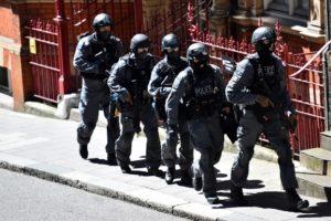 UK police arrest four men on suspicion of terrorism offense